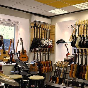 Музыкальные магазины Грибановского